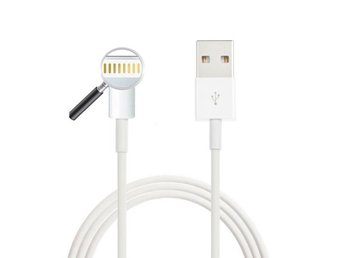 USB Laddare till iPhone 5/5s/5c/6/6+ Vit Kabel