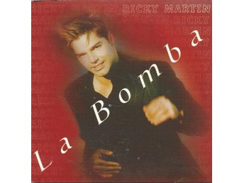 RICKY MARTIN - LA BOMBA  (CD MAXI/SINGLE )