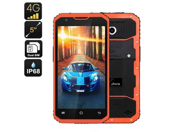 NO.1 M3 Android Smartphone - IP68, 5 Tum Display, 4G, Quad-Core CPU, 13MP Kamera