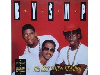 B.V.S.M.P. title* The Best Belong Together* 80's Hip-Hop, Electro LP Denmark