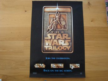 STAR WARS TRILOGY 70x100 1996 George Lucas