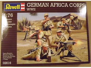 WWII GERMAN AFRIKA CORPS           Revell  1/76 Byggsats