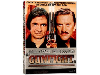 Gunfight '71 SS - NY INPLASTAD - Kirk Douglas, Johnny Cash - OOP