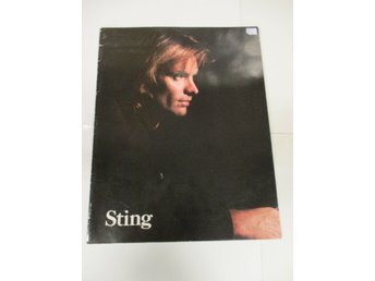 STING - 1987-1988... Nothing Like The Sun, World Tour (Turneprogram) - Ok Skick!