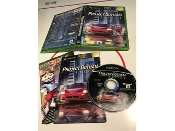 Xbox Originalet Första Xboxet original spel Project Gotham Racing
