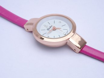 Yukao Fashion Quartz Damklocka - Chockrosa armband