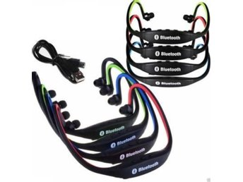 Wireless Headset Earphone Stereo Spor...