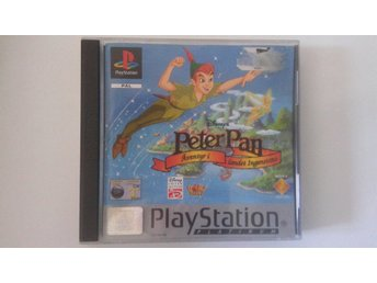 Playstation1 Originalspel:  Peter Pan - Äventyr i landet Ingenstans !!!