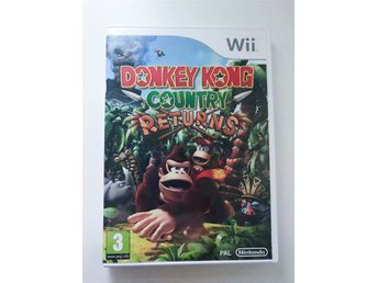 Wii spel Donkey Kong Country Returns