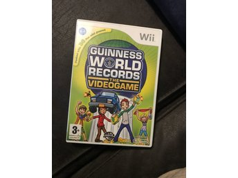 Guinness World Records Wii komplett