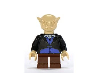 Lego - Harry Potter  - Figurer - Goblin från Gringotts Bank Svart brun