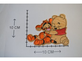 Disney Nalle Puh Tiger Baby Tygmärke Iron-On Patch
