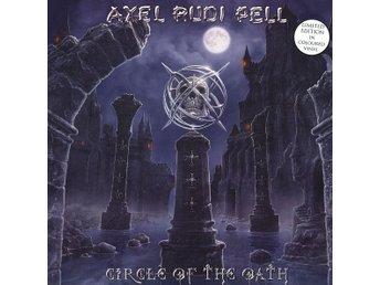 AXEL RUDI PELL-Circle Of The Oath-LTD 2LP Blue Marbled Vinyl-Heavy Metal!! - Västerås - AXEL RUDI PELL-Circle Of The Oath-LTD 2LP Blue Marbled Vinyl-Heavy Metal!! - Västerås