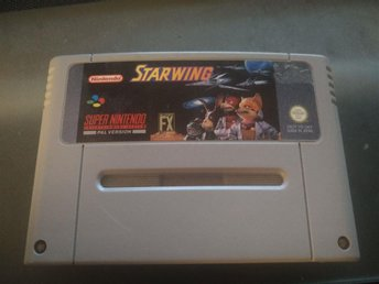Starwing - SNES PAL