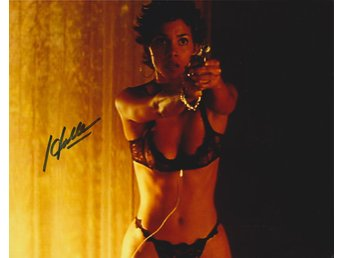 HALLE BERRY AMERICAN ACTRESS PRE-PRINT AUTOGRAF FOTO