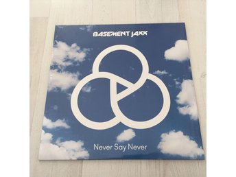 BASEMENT JAXX - NEVER SAY NEVER. NY 12""