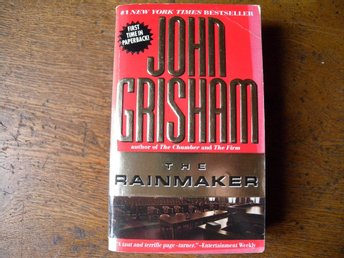 The rainmaker by John Grisham. Engelsk bok.