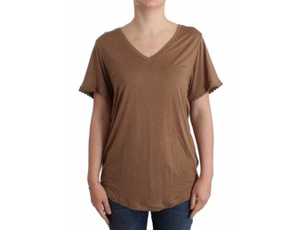 Galliano - Brown shortsleeved top
