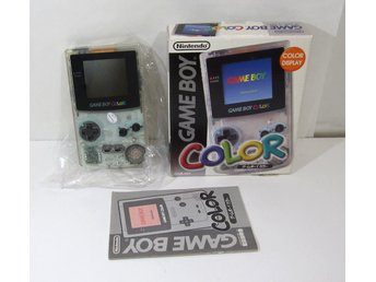 GBC konsol, transparent Game Boy Color
