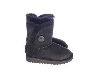UGG, Boots, Bailey Button, Strl: 25, Svart, Skinn