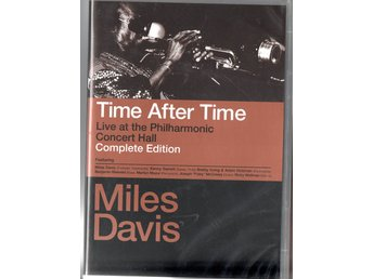 Miles Davies: Time after Time. Live at the Philharmonic Consert Hall 1988