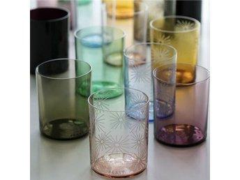 "Javascript är inaktiverat. - Stockholm - Tunna vattenglas ur serien ""FEAST"" Enkla glas, utan gravyr, 1 pack: Rosalin pink - 9 st. Ametyst purple - 9 st. Azur blue - 2 st. Light ametyst - 4 st. (Marknadspris 225 kr./st.) - Stockholm"