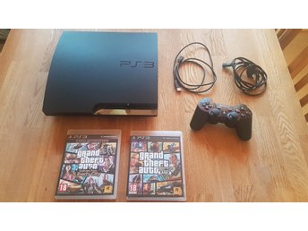 PS3 160GB - Playstation 3 160GB - GTA paket