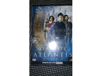 Stargate Atlantis säsong 2 , Dvdbox , 4 diskar , en saknas , Science fiction
