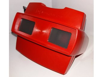 3D View-Master - Röd - Made in belgium - Viewmaster