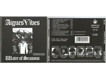 AIGUES VIVES - Water Of Seasons (CD 1981/2004) with 4 BONUS TRACKS