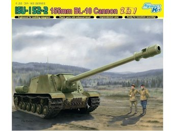 ISU-152-2 155mm BL-10 Cannon 2in1 Dragon 6796