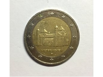 2 euro coin - St. Michael's Church - Germany, 2014