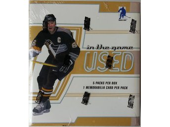 2002/2003 Be A Player In the Game Used Hobby Box