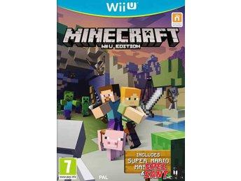 Minecraft Wii U Edition (inkl. Super Mario Mash-UP) - Norrtälje - Minecraft Wii U Edition (inkl. Super Mario Mash-UP) - Norrtälje