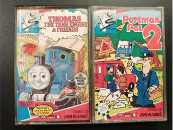 Postman Pat 2 + Thomas the Tank Engine till Commodore 64 / 128 | C64 | C128