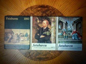 Årsboken Fataburen x 3 - östersund - Årsboken Fataburen x 3 - östersund