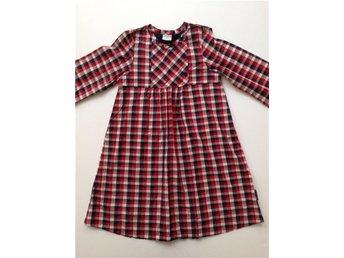 st. 110 116 POP polarn klänning rutig - Vällingby - st. 110 116 POP polarn klänning rutig - Vällingby