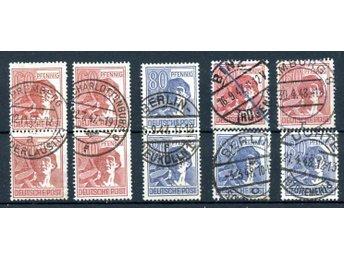 Alliierte Besetzung 1948, Lot Mi 956, 957 stämplade - Uppsala - Alliierte Besetzung 1948, Lot Mi 956, 957 stämplade - Uppsala
