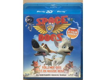 Space Dogs Blu-ray 3d