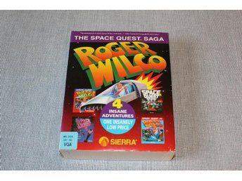 "Roger Wilco - The Space Quest Saga - 3,5"" disk"