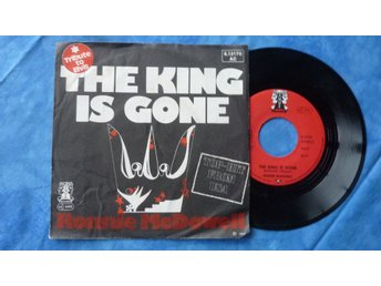 "SINGEL RONNIE McDOWELL - ""THE KING IS GONE"" - 1977"