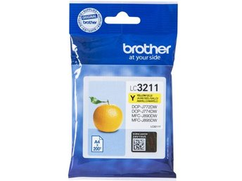 Brother LC3211Y Yellow 200 pages