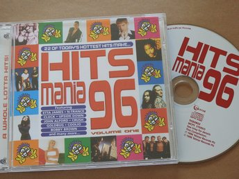 Hits Mania 96 CD Coolio,Etta James,R.Kelly,Bobby Brown,Scooter,Jinny
