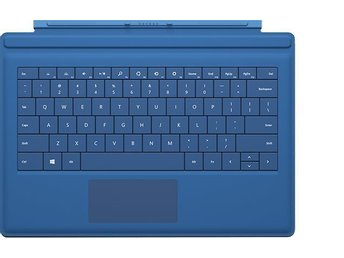 Surface Pro 3 Type Cover Blå