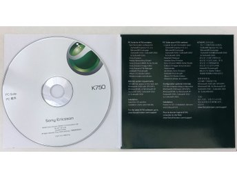 Sony Ericsson K750 PC Suite-cd