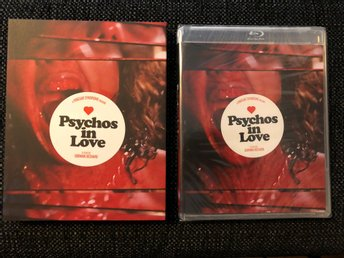 PSYCHOS IN LOVE (1986, VINEGAR SYNDROME, LIMITED SLIPCOVER, BLU-RAY) OOP