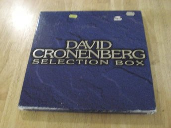 David Cronenberg Selection Box (JAPAN) 3 LD SCANNERS, THE BROOD, THE DEAD ZONE