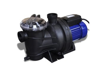 Poolpump elektrisk 1200W blå