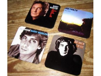 BARRY MANILOW COASTERS - Set of 4