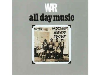 War - All Day Music (1971/1992) CD, Avenue Records, Remastered, Like New